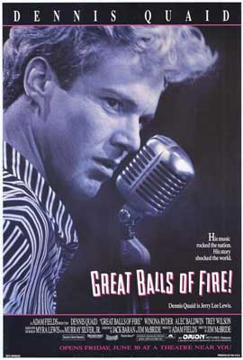 Great Balls of Fire - 27 x 40 Movie Poster - Style C