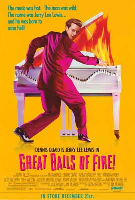 Great Balls of Fire - 11 x 17 Movie Poster - Style F