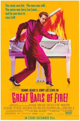 Great Balls of Fire - 27 x 40 Movie Poster - Style E