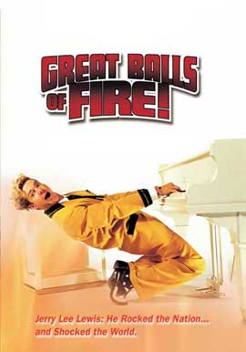 Great Balls of Fire - 27 x 40 Movie Poster - Style F