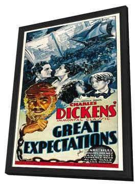 Great Expectations - 11 x 17 Movie Poster - Style A - in Deluxe Wood Frame