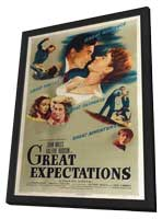 Great Expectations - 27 x 40 Movie Poster - Style A - in Deluxe Wood Frame