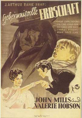 Great Expectations - 11 x 17 Movie Poster - German Style A