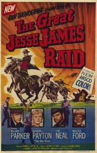 Great Jesse James Raid - 11 x 17 Movie Poster - Style A