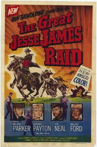 Great Jesse James Raid - 27 x 40 Movie Poster - Style A