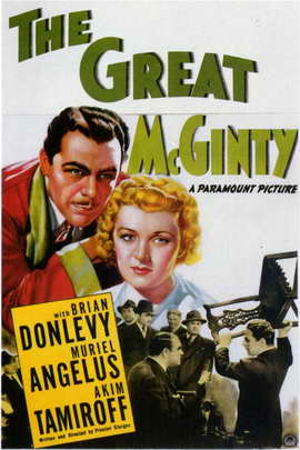 The Great McGinty - 11 x 17 Movie Poster - Style A