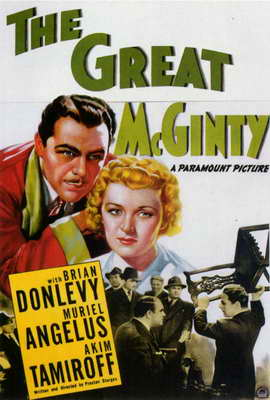 The Great McGinty - 27 x 40 Movie Poster - Style A
