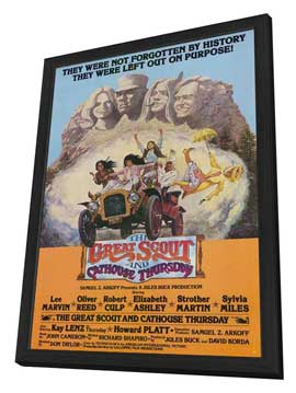 Great Scout & Cathouse Thursday - 11 x 17 Movie Poster - Style A - in Deluxe Wood Frame