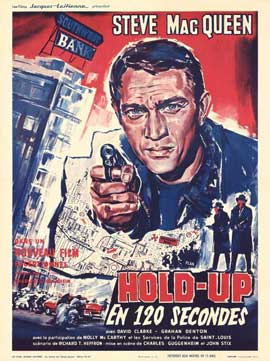 The Great St. Louis Bank Robbery - 11 x 17 Movie Poster - French Style A