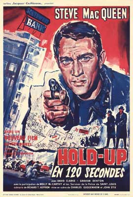 The Great St. Louis Bank Robbery - 27 x 40 Movie Poster - French Style A