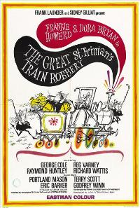 The Great St. Trinian's Train Robbery - 27 x 40 Movie Poster - Style A