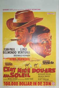 Greed in the Sun - 11 x 17 Movie Poster - Belgian Style A