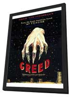 Greed - 27 x 40 Movie Poster - Style A - in Deluxe Wood Frame