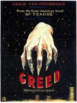 Greed - 11 x 17 Movie Poster - Style A