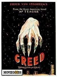 Greed - 43 x 62 Movie Poster - Bus Shelter Style A