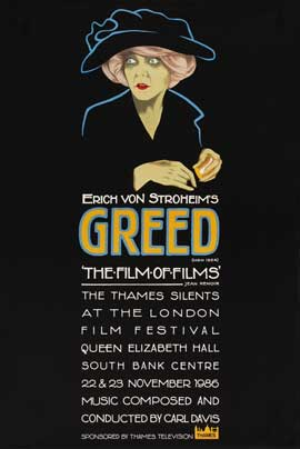 Greed - 27 x 40 Movie Poster - UK Style A
