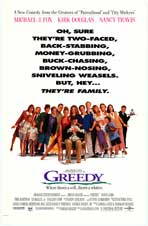 Greedy - Movie Poster - Reproduction - 11 x 17 Style A