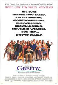 Greedy - 11 x 17 Movie Poster - Style B