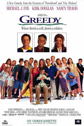 Greedy - 11 x 17 Movie Poster - Style C
