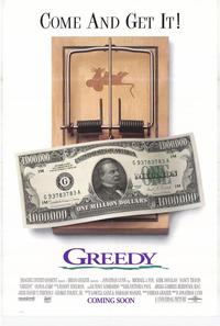 Greedy - 27 x 40 Movie Poster - Style A