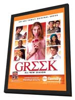Greek (TV) - 27 x 40 TV Poster - Style A - in Deluxe Wood Frame