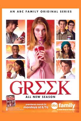 Greek (TV) - 11 x 17 TV Poster - Style A