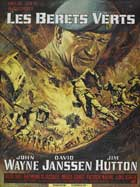 The Green Berets - 11 x 17 Movie Poster - French Style B