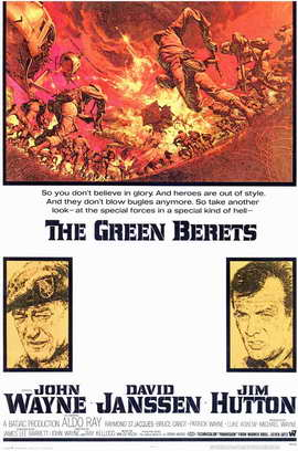The Green Berets - 11 x 17 Movie Poster - Style A