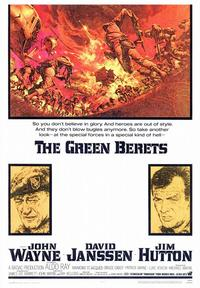 The Green Berets - 43 x 62 Movie Poster - Bus Shelter Style A