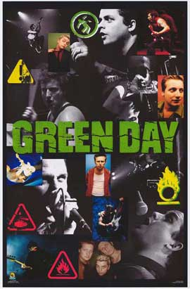 Green Day - 27 x 40 Movie Poster - Style A