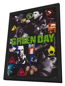 Green Day - 11 x 17 Movie Poster - Style A - in Deluxe Wood Frame