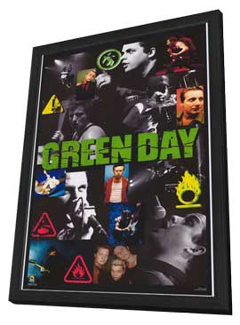 Green Day - 27 x 40 Movie Poster - Style A - in Deluxe Wood Frame