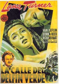 Green Dolphin Street - 11 x 17 Movie Poster - Spanish Style B