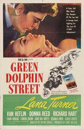 Green Dolphin Street - 11 x 17 Movie Poster - Style B