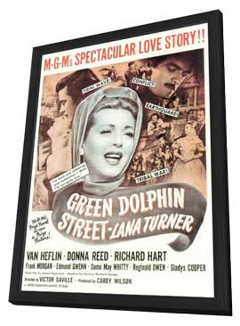 Green Dolphin Street - 11 x 17 Movie Poster - Style A - in Deluxe Wood Frame