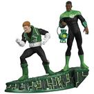 Green Lantern - Legacies Guy Gardner and John Stewart Statue