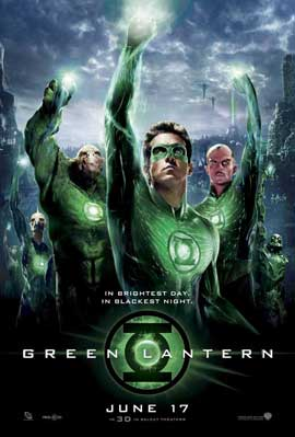 Green Lantern - 11 x 17 Movie Poster - Style N