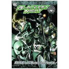 Green Lantern - Blackest Night Rise Of The Black Lanterns Graphic Novel
