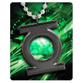 Green Lantern - Black Emblem Pendant Necklace
