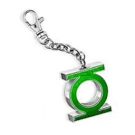 Green Lantern - Green/Silver Emblem Key Chain