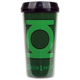 Green Lantern - Logo 16 oz. Plastic Travel Mug