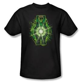 Green Lantern - Movie Lantern Battery T-Shirt