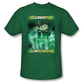 Green Lantern - Movie In Your Face T-Shirt