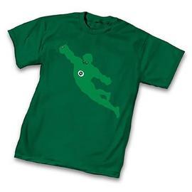 Green Lantern - Silhouette Green T-Shirt