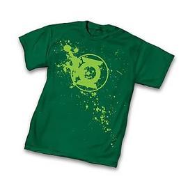 Green Lantern - Splatter Symbol T-Shirt