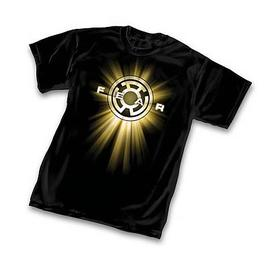 Green Lantern - Yellow Lantern Symbol T-Shirt