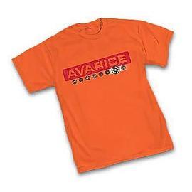 Green Lantern - Orange Lantern Avarice T-Shirt