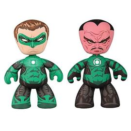 Green Lantern - and Sinestro Movie Mez-Itz Figures Set