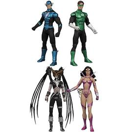 Green Lantern - Blackest Night Series 6 Action Figure Set