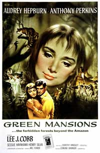 Green Mansions - 11 x 17 Movie Poster - Style A